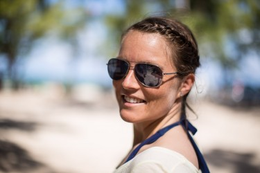 guro kristine larsen at le morne beach 375x250 Mauritius